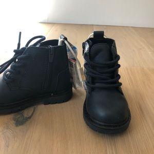 ZARA Dark Navy Blue Boots I Baby size 4.5